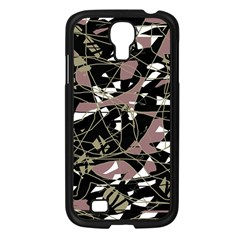 Artistic Abstract Pattern Samsung Galaxy S4 I9500/ I9505 Case (black) by Valentinaart