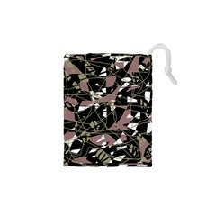 Artistic Abstract Pattern Drawstring Pouches (xs)  by Valentinaart