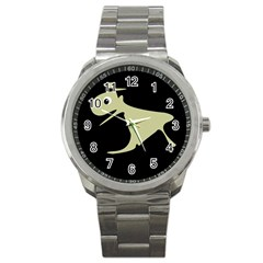 Kangaroo Sport Metal Watch by Valentinaart