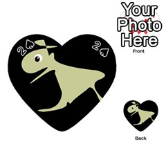 Kangaroo Playing Cards 54 (heart)