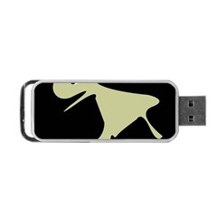 Kangaroo Portable Usb Flash (two Sides) by Valentinaart
