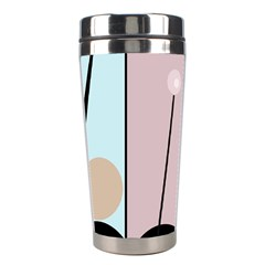 Abstract Design Stainless Steel Travel Tumblers by Valentinaart
