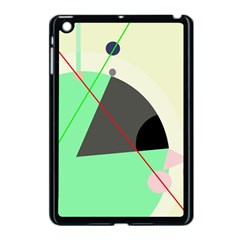 Decorative Abstract Design Apple Ipad Mini Case (black) by Valentinaart