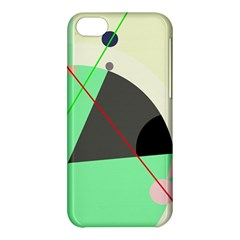 Decorative Abstract Design Apple Iphone 5c Hardshell Case by Valentinaart