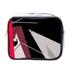 Artistic Abstraction Mini Toiletries Bags by Valentinaart