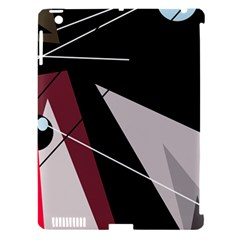 Artistic Abstraction Apple Ipad 3/4 Hardshell Case (compatible With Smart Cover) by Valentinaart