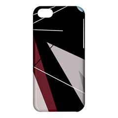 Artistic Abstraction Apple Iphone 5c Hardshell Case by Valentinaart