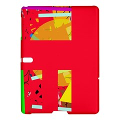 Red Abstraction Samsung Galaxy Tab S (10 5 ) Hardshell Case  by Valentinaart