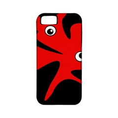 Red Amoeba Apple Iphone 5 Classic Hardshell Case (pc+silicone) by Valentinaart
