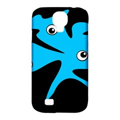 Blue Amoeba Samsung Galaxy S4 Classic Hardshell Case (pc+silicone) by Valentinaart