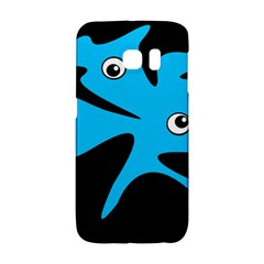 Blue Amoeba Galaxy S6 Edge by Valentinaart