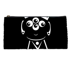 Black And White Voodoo Man Pencil Cases