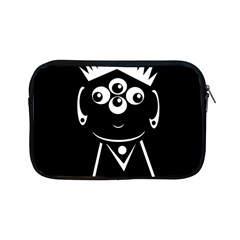 Black And White Voodoo Man Apple Ipad Mini Zipper Cases by Valentinaart