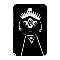 Black And White Voodoo Man Samsung Galaxy Note 8 0 N5100 Hardshell Case  by Valentinaart