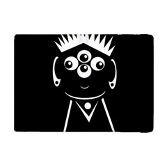Black And White Voodoo Man Ipad Mini 2 Flip Cases by Valentinaart