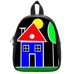 Kids Drawing School Bags (small)  by Valentinaart