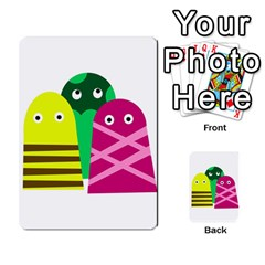 Three Mosters Multi Purpose Cards (rectangle)  by Valentinaart