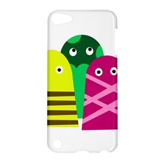 Three Mosters Apple Ipod Touch 5 Hardshell Case by Valentinaart