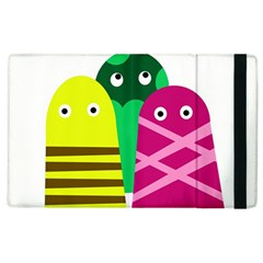 Three Mosters Apple Ipad 3/4 Flip Case by Valentinaart