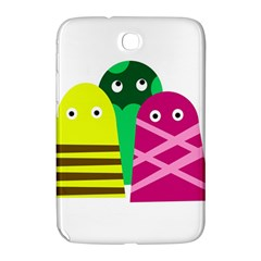 Three Mosters Samsung Galaxy Note 8 0 N5100 Hardshell Case  by Valentinaart