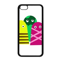 Three Mosters Apple Iphone 5c Seamless Case (black)