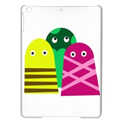 Three Mosters Ipad Air Hardshell Cases by Valentinaart