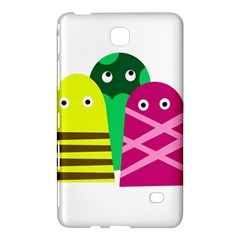 Three Mosters Samsung Galaxy Tab 4 (8 ) Hardshell Case  by Valentinaart