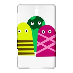Three Mosters Samsung Galaxy Tab S (8 4 ) Hardshell Case  by Valentinaart