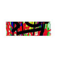 Colorful Abstraction Satin Scarf (oblong) by Valentinaart