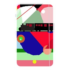 Abstract Train Memory Card Reader by Valentinaart