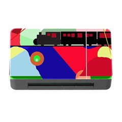 Abstract Train Memory Card Reader With Cf by Valentinaart