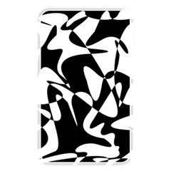 Black And White Elegant Pattern Memory Card Reader by Valentinaart