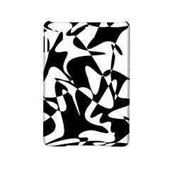 Black And White Elegant Pattern Ipad Mini 2 Hardshell Cases by Valentinaart