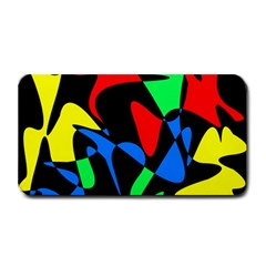 Colorful Abstraction Medium Bar Mats by Valentinaart