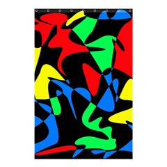 Colorful Abstraction Shower Curtain 48  X 72  (small)  by Valentinaart