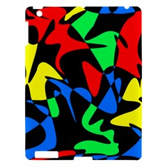 Colorful Abstraction Apple Ipad 3/4 Hardshell Case by Valentinaart