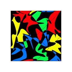 Colorful Abstraction Acrylic Tangram Puzzle (4  X 4 ) by Valentinaart