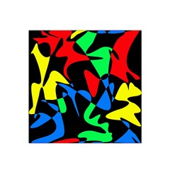 Colorful Abstraction Satin Bandana Scarf by Valentinaart