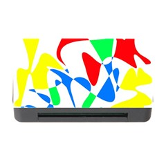 Colorful Abstraction Memory Card Reader With Cf by Valentinaart