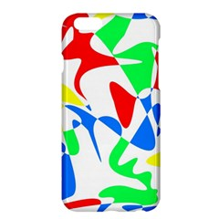 Colorful Abstraction Apple Iphone 6 Plus/6s Plus Hardshell Case by Valentinaart