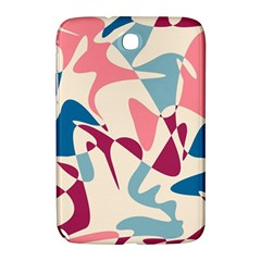 Blue, Pink And Purple Pattern Samsung Galaxy Note 8 0 N5100 Hardshell Case  by Valentinaart