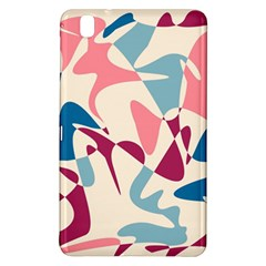 Blue, Pink And Purple Pattern Samsung Galaxy Tab Pro 8 4 Hardshell Case by Valentinaart