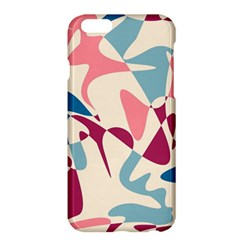 Blue, Pink And Purple Pattern Apple Iphone 6 Plus/6s Plus Hardshell Case by Valentinaart