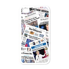 Hillary 2016 Historic Newspapers Apple Iphone 4 Case (white) by uspoliticalhistory