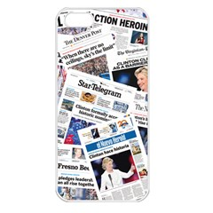 Hillary 2016 Historic Newspapers Apple Iphone 5 Seamless Case (white) by uspoliticalhistory
