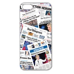 Hillary 2016 Historic Newspapers Apple Seamless Iphone 5 Case (clear) by uspoliticalhistory