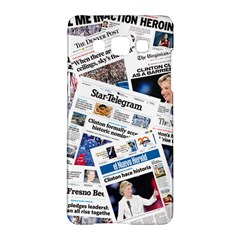 Hillary 2016 Historic Newspapers Samsung Galaxy A5 Hardshell Case  by uspoliticalhistory