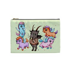 Evil Is Magic Cosmetic Bag (medium)  by lvbart