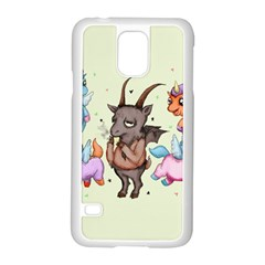 Evil Is Magic Samsung Galaxy S5 Case (white) by lvbart
