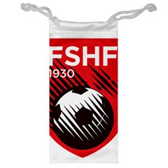 Crest Of The Albanian National Football Team Jewelry Bags by abbeyz71